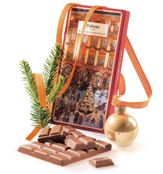 Weihnachtsschokolade Dallmayr